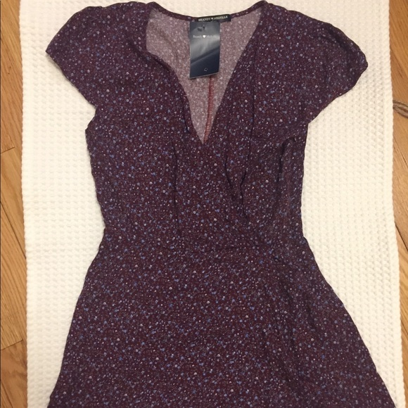 cd72082748d8 Brandy Melville Hannah Romper in purple NWT